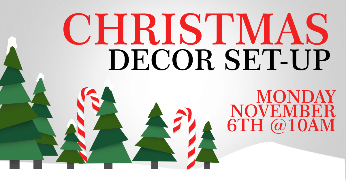 help us decorate for christmas - Hope For Christmas